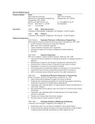Sample Undergraduate Resume Stunning Fresher Mechanical Engineering Resume Pictures Office
