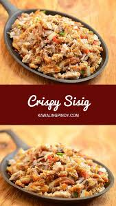 filipino thanksgiving recipes pork sisig recipe sizzling pork sisig recipe filipino food