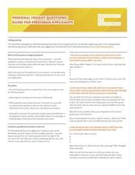Got a Plan    Temple City High College  amp  Career Center Juniors  the UC application no longer requires personal statements  Use the guide provided below to answer the UC Personal Insight Questions