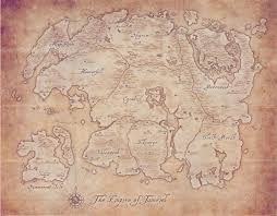 Bal Foyen Treasure Map 1 Map Tamriel The Elder