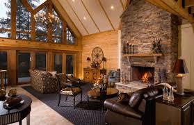 log cabin kitchen design ideas homes interior lrg bccbafb