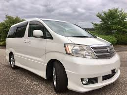 used toyota alphard cars for sale motors co uk