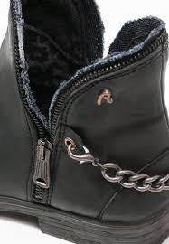 womens black leather biker boots replay sale replay pandy cowboy biker boots schwarz women