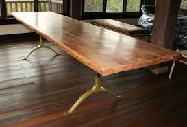 solid wood dining table and gold metal brass dining table legs