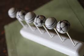 heavenly cake pops soccer cake pops