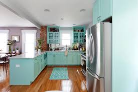 Geneva Metal Kitchen Cabinets Turquoise Kitchen Cabinets Kevin Thayer Interior Design House Of