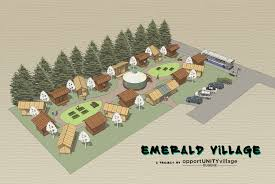 tiny house villages become sustainable housing for the homeless