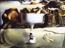 Salvador Dali - Apparition of Face and Fruit