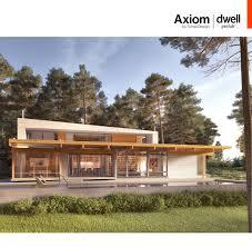 Dwell Home Plans by Axiom Dwell Prefab Planbook By Turkel Design Issuu