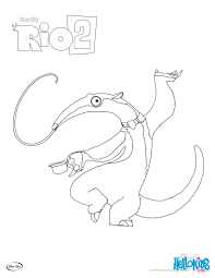 rio 2 charlie coloring pages hellokids com