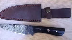 obsidian knife company catalog damascus steel knives straight