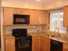 Kitchen Glass Backsplash Ideas Backsplash For Kitchen Home Design Ideas