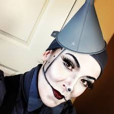 Halloween Male Makeup Tin Man Makeup Youtube