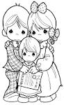 Dibujo de Adopción de Los Preciosos Mome