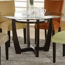 dining room table bases for glass tops