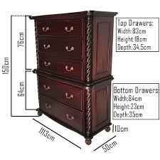 antique style bedroom furniture solid mahogany wood colonial high