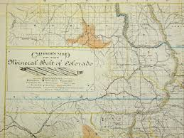 Map Of Colorado by Heiser