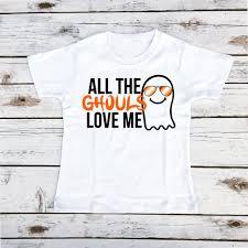 all the ghouls love me halloween boy u0027s shirt shop cassidys closet