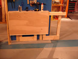 Plans For Building A Wooden Workbench by How To Make A Fold Down Workbench How Tos Diy