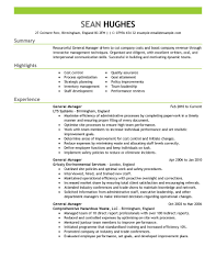 Functional Resume Sample  Project Management  Training