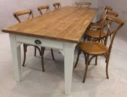 Best Rustic Dining Tables Images On Pinterest Kitchen Tables - Farmhouse kitchen tables