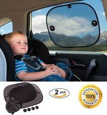 car window shades for babies 2 pack premium car sun shade