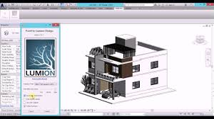 how to import revit architecture 2016 projects into lumion 6