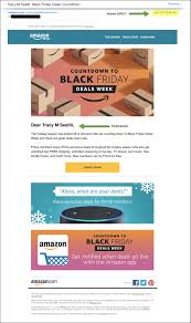 black friday amazon ad best black friday email campaigns 2016 sparkpost