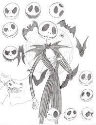 jack skeleton and zero by missakura on deviantart