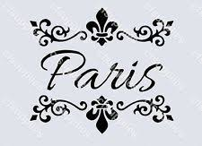 Shabby Chic Stencils by French Style Stencils For Signs Furniture Extra Large Shabby Chic