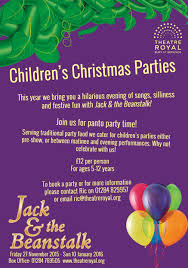 children u0027s christmas parties at the theatre royal theatre royal