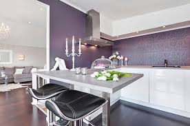 Wallpaper In Kitchen Ideas Kitchens Small Kitchen Ideas With Elegant Wallpaper And U Shaped