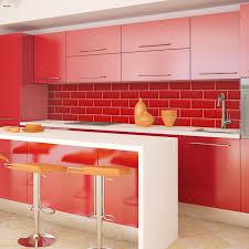 Orange And White Kitchen Ideas Trendy Glass Splashbacks Adding Style To Your Kitchen Homesfeed