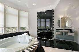 Modern Master Bathroom Ideas Modern Master Bathroom Designs Polished Cream Marble Tile Wall
