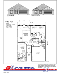 House For Plans by Canal Crossing Adams Homes