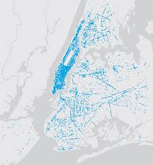 Map New York City by Linknyc