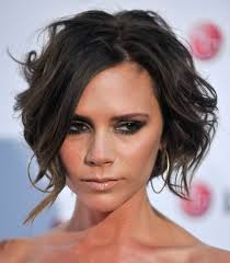 short hair with front bangs hair style and color for woman