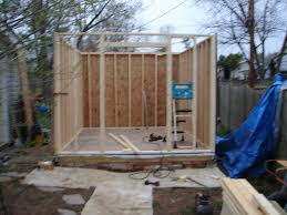 How To Build A Small Shed Step By Step by Building A Complete Diy Workshop 8 Steps With Pictures