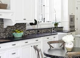 Kitchen Backsplash Ideas For White Cabinets My Home Design Journey - White kitchen backsplash ideas