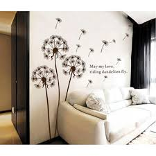 wall decals australia wall art stickers tree nursery baby room dandelion wall sticker