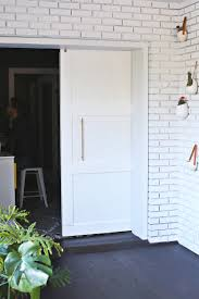 Diy Barn Doors by Modern Barn Door Diy U2013 A Beautiful Mess