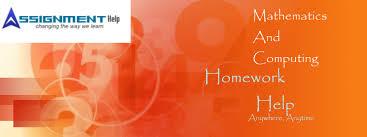 Mathematics And Computing Assignment Help   Mathematics And     Assignmenthelp net