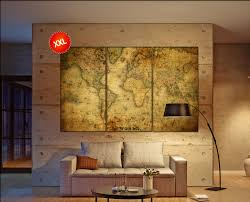 World Map Canvas by Old World Map Canvas Wall Art Print Prints On Canvas Old World Map