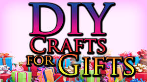 diy craft ideas for gifts youtube