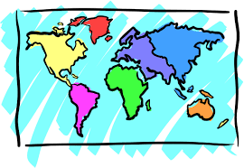 Kids World Map Cartoon Blank Maps Wire Get Free Images About World Maps