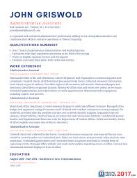 Sample Resume For Admin Assistant by Executive Administrative Assistant Resume Examples Free Resume