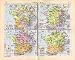 France Map Regions by Map Of France In 1789
