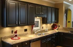 kitchen backsplash ideas with dark cabinets small entry asian