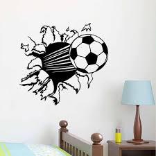 55 44cm 3d soccer ball football vinyl wall sticker decal kids room 55 44cm 3d soccer ball football vinyl wall sticker decal kids room decor sport boy art bedroom home wall stickers train wall decals train wall stickers from