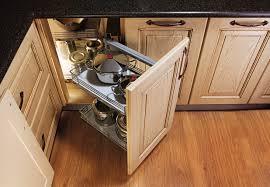 furniture attractive corner kitchen storage cabinets design ideas